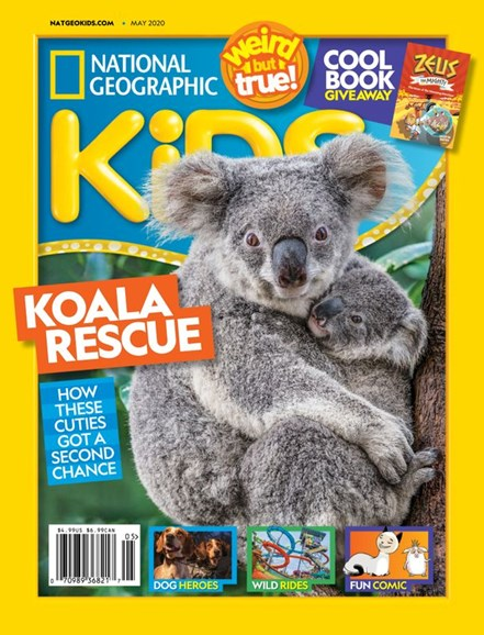 National Geographic Kids Cover - 5/1/2020