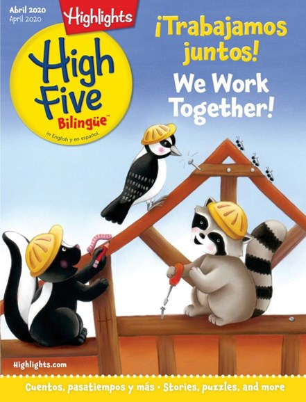 Highlights High Five Bilingue Cover - 4/1/2020