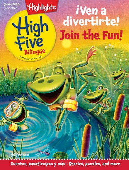 Highlights High Five Bilingue Cover - 6/1/2020