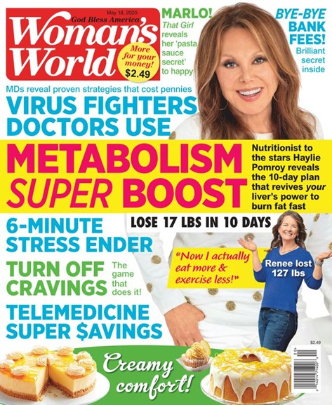 Woman's World Cover - 5/18/2020