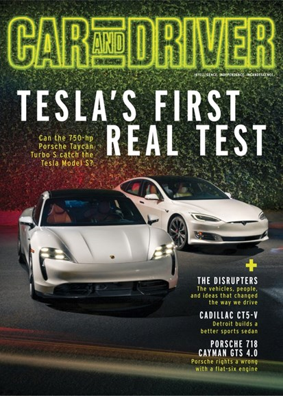 Car And Driver Cover - 4/1/2020