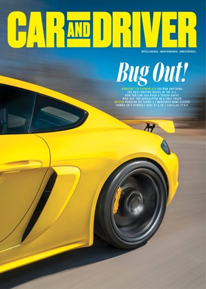 Car And Driver Cover - 6/1/2020