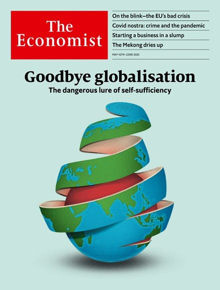 The Economist Cover - 5/16/2020