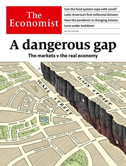 The Economist Cover - 5/9/2020