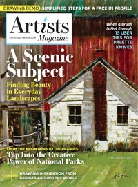 Artists Magazine | 7/2020 Cover