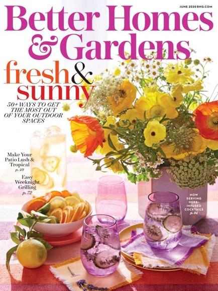 Better Homes & Gardens Cover - 6/1/2020
