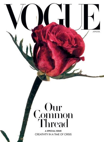 Vogue Cover - 6/1/2020