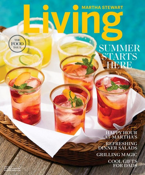 Martha Stewart Living Cover - 6/1/2020