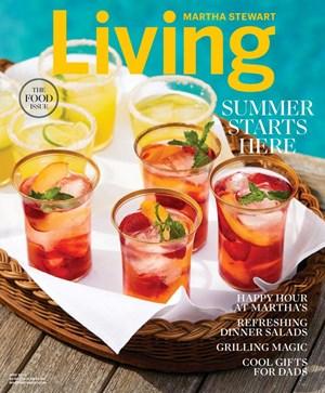 Martha Stewart Living   6/1/2020 Cover