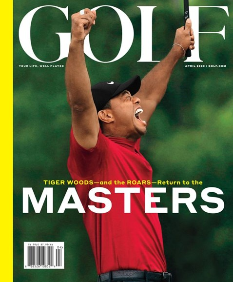 Golf Magazine Cover - 4/1/2020