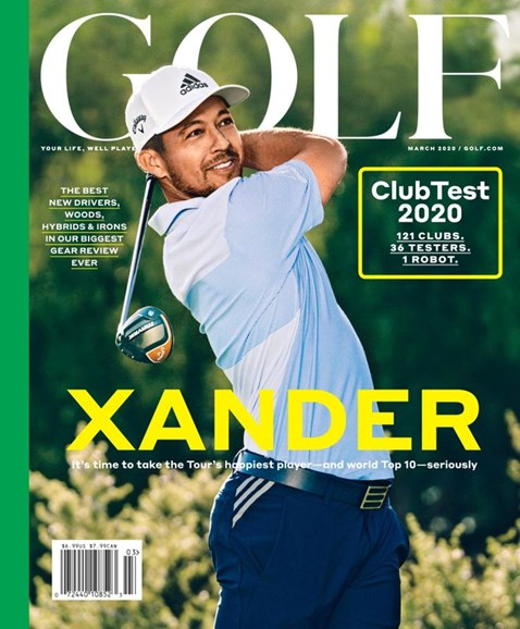 Golf Magazine Cover - 3/1/2020