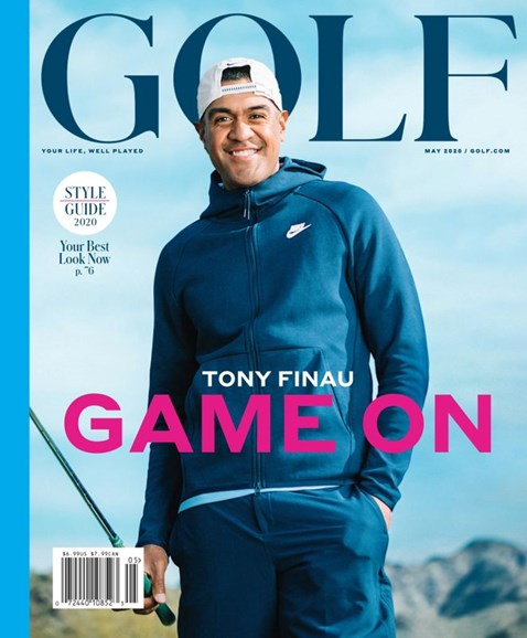 Golf Magazine Cover - 5/1/2020