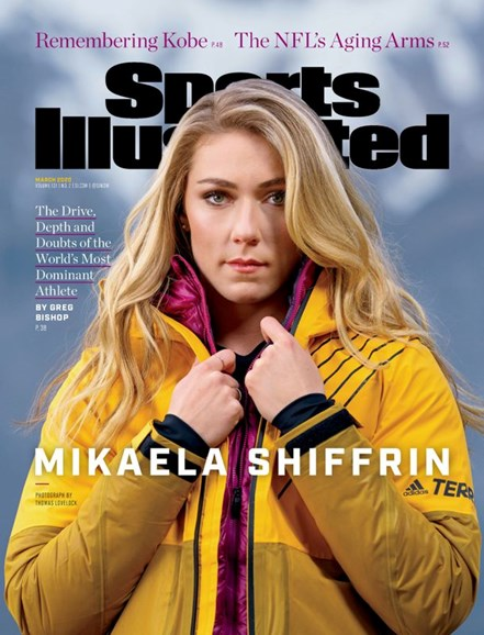 Sports Illustrated Cover - 3/1/2020
