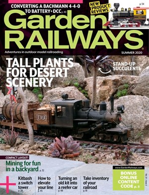 Garden Railways Magazine | 6/1/2020 Cover
