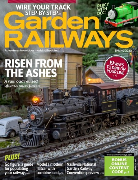 Garden Railways Cover - 3/1/2020