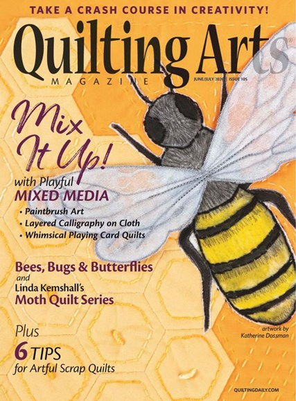 Quilting Arts Cover - 6/1/2020