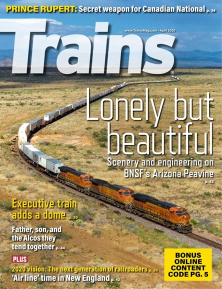 Trains Cover - 4/1/2020