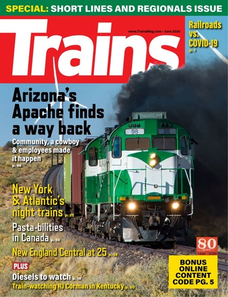 Trains Cover - 6/1/2020