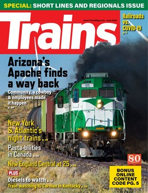 Trains Magazine   6/2020 Cover