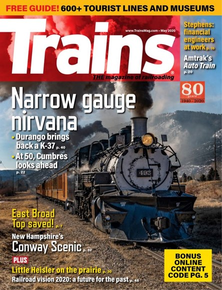 Trains Cover - 5/1/2020