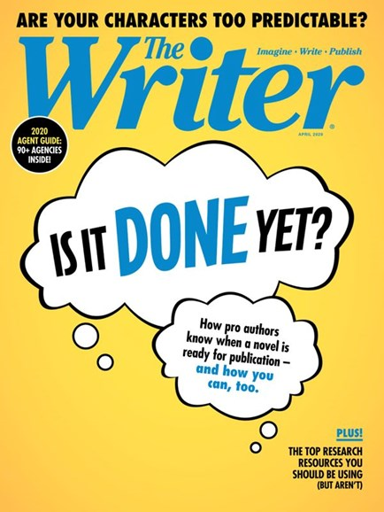 The Writer Cover - 4/1/2020