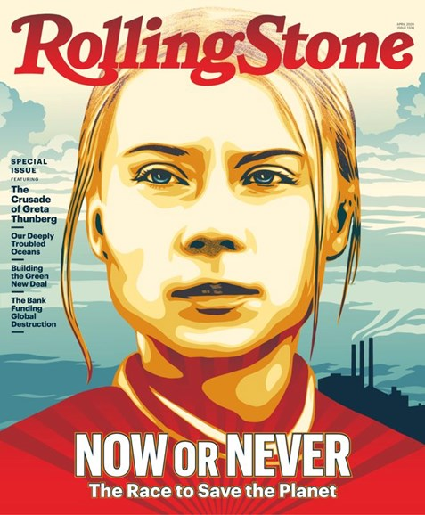 Rolling Stone Cover - 4/1/2020