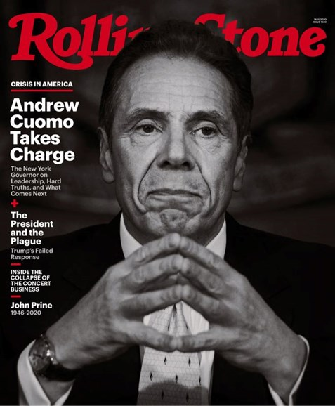 Rolling Stone Cover - 5/1/2020