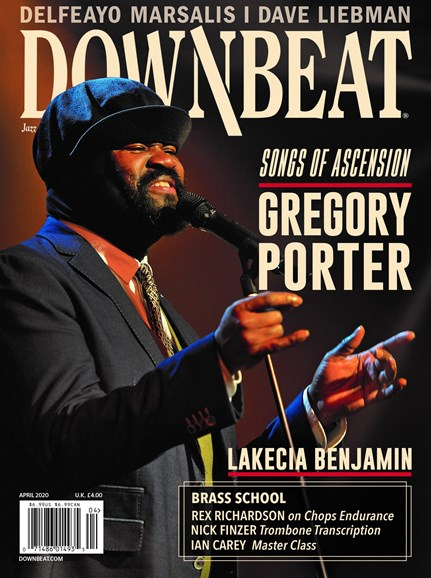 DownBeat Cover - 4/1/2020