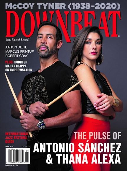 DownBeat Cover - 5/1/2020