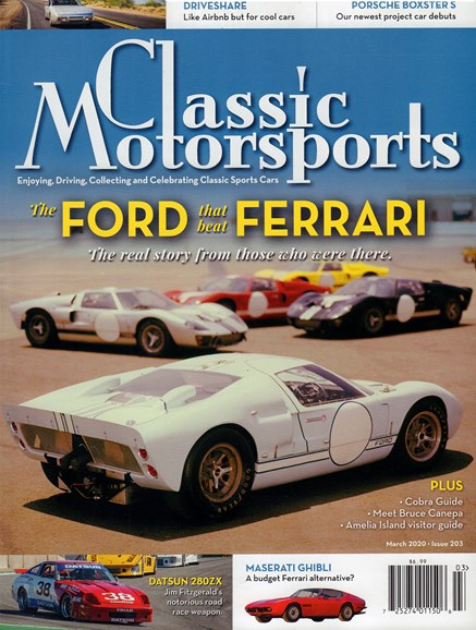 Classic Motorsports Cover - 3/1/2020