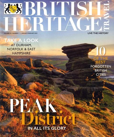 British Heritage Travel Cover - 1/1/2020