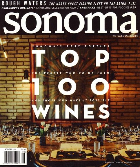 Sonoma Cover - 11/1/2019