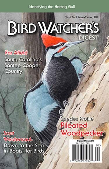 Bird Watcher's Digest Cover - 1/1/2020