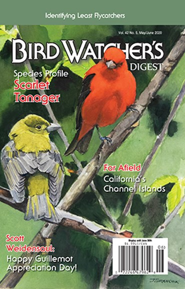 Bird Watcher's Digest Cover - 5/1/2020