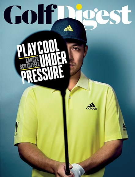 Golf Digest Cover - 4/1/2020