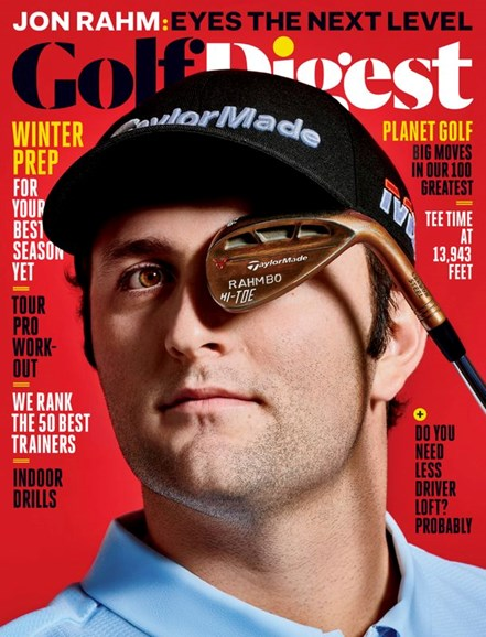 Golf Digest Cover - 2/1/2020