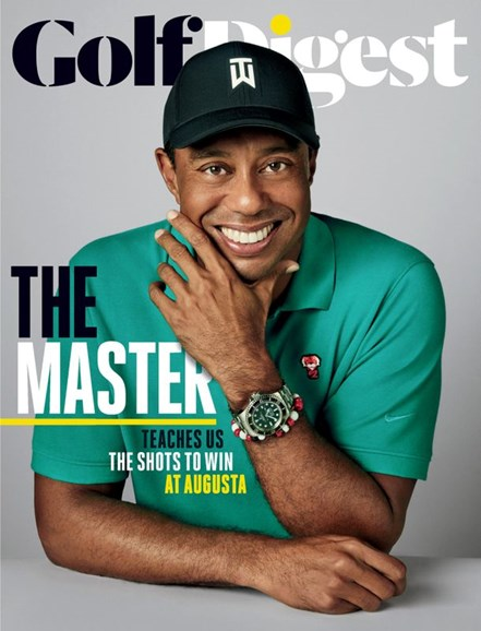 Golf Digest Cover - 5/1/2020