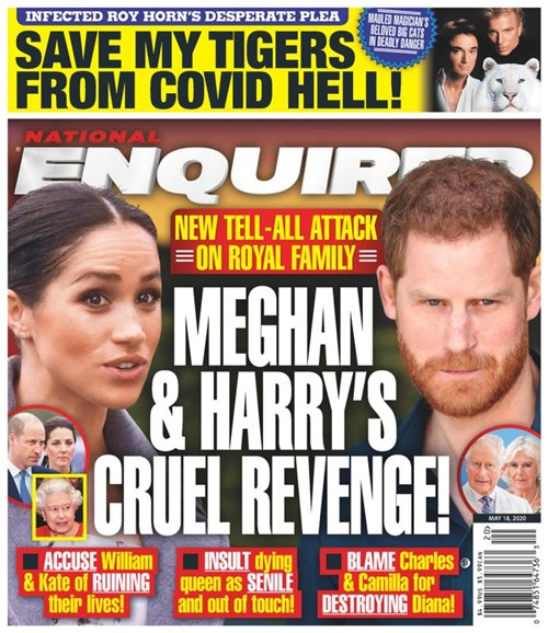 National Enquirer Cover - 5/18/2020