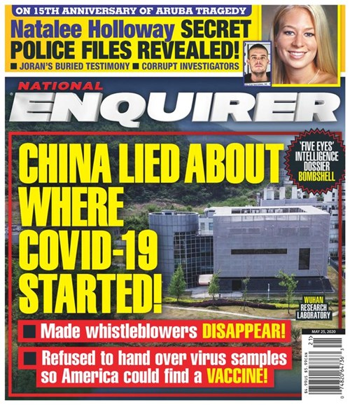 National Enquirer Cover - 5/25/2020