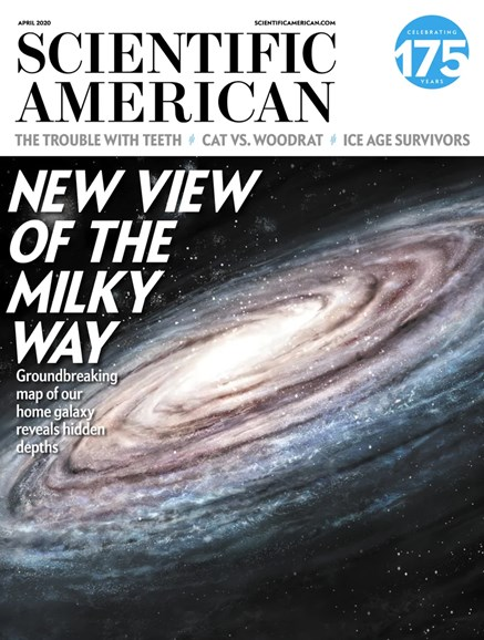 Scientific American Cover - 4/1/2020