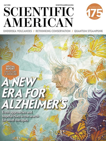 Scientific American Cover - 5/1/2020