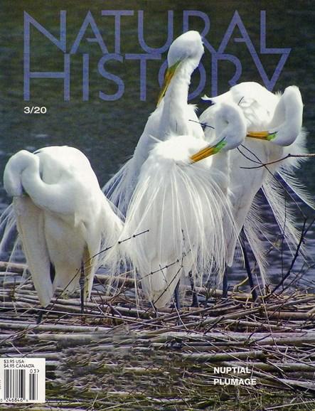 Natural History Cover - 3/1/2020