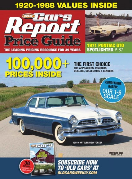 Old Cars Report Price Guide Cover - 5/1/2020
