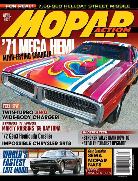 Mopar Action Cover - 4/1/2020