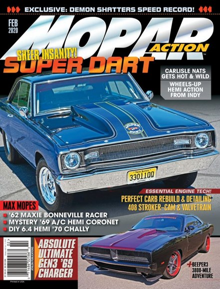 Mopar Action Cover - 2/1/2020