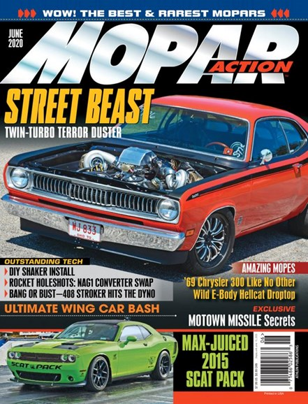 Mopar Action Cover - 6/1/2020