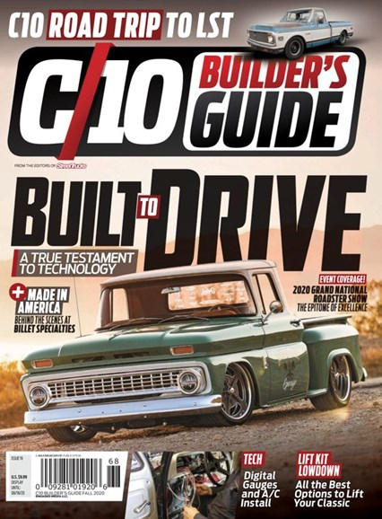 C10 Builders Guide Cover - 9/1/2020