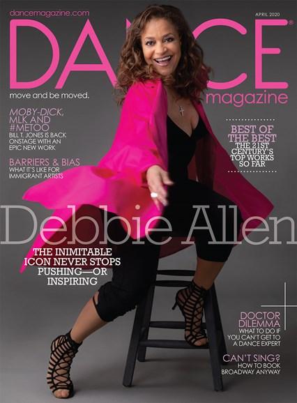 Dance Magazine Cover - 4/1/2020