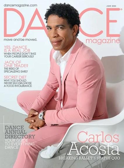 Dance Magazine Cover - 6/1/2020