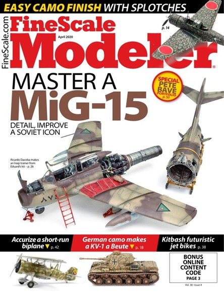 Finescale Modeler Cover - 4/1/2020